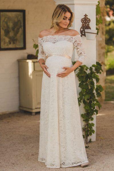 Hosszú menyasszonyi ruha