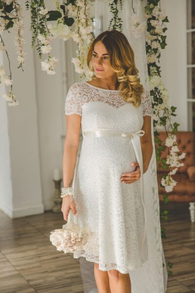f64d2cf5b0 Kismama menyasszonyi ruha | Kismama Módi
