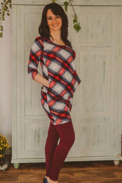 bordó leggings